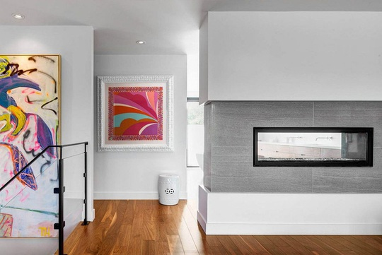 Một không gian hiện đại đến khó tin bên trong ngôi nhà tường gạch - Ảnh 5.
