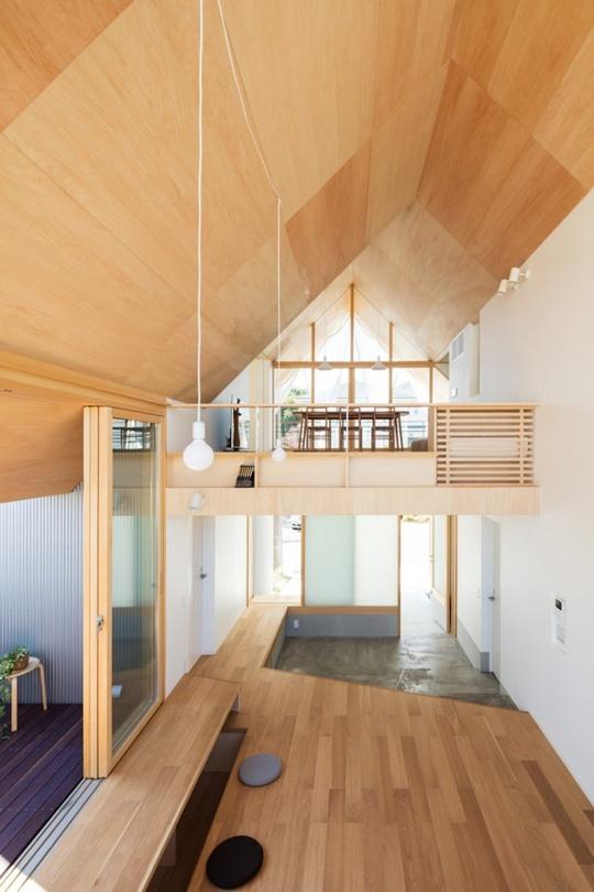 Nhà gỗ cấp 4 đẹp như biệt thự nhờ thiết kế tối giản - Ảnh 6.