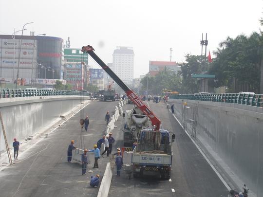 Đà Nẵng: Ngày 30-10 chính thức lưu thông hầm chui Điện Biên Phủ - Nguyễn Tri Phương - Ảnh 4.