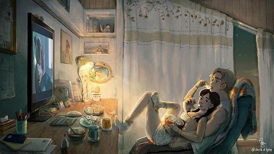Bộ tranh: Tình yêu đến từ những điều nhỏ nhặt nhất - Ảnh 5.