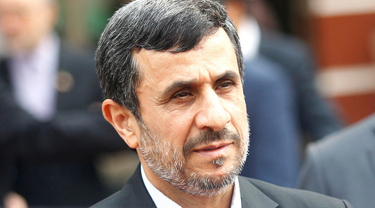 Cựu Tổng thống Iran Mahmoud Ahmadinejad. Ảnh: Reuters