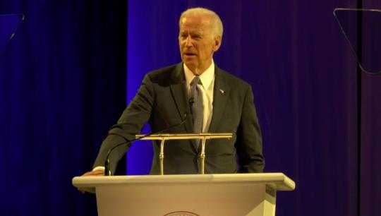 Ông Biden thừa nhận ông hối tiếc vì đã không tranh cử tổng thống. Ảnh: Huffington Post