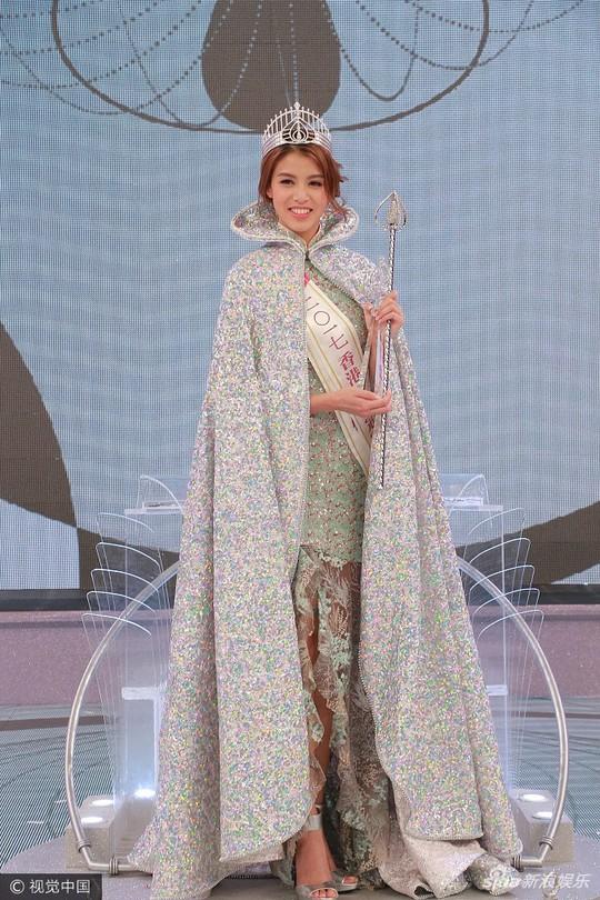 Cận cảnh nhan sắc Tân Hoa hậu Hồng Kông 2017 - Ảnh 4.