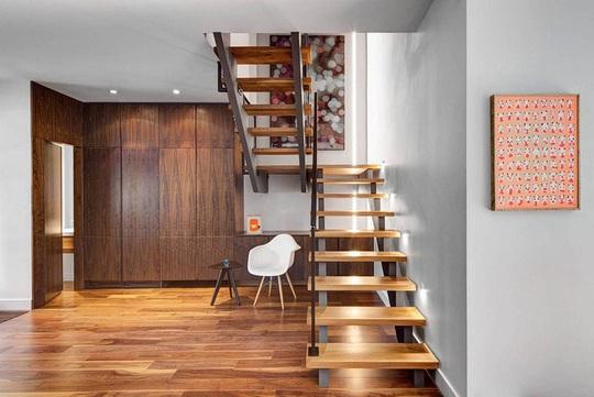 Một không gian hiện đại đến khó tin bên trong ngôi nhà tường gạch - Ảnh 6.