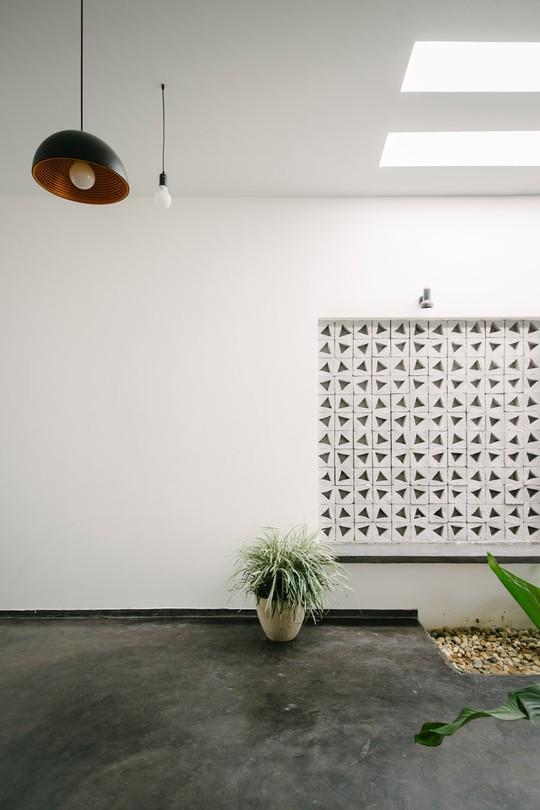 Căn nhà một tầng với thiết kế nổi bật - Ảnh 6.