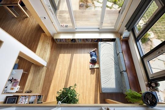 Ngôi nhà với phong cách tối giản đẹp như trong phim ở Hàn Quốc - Ảnh 5.