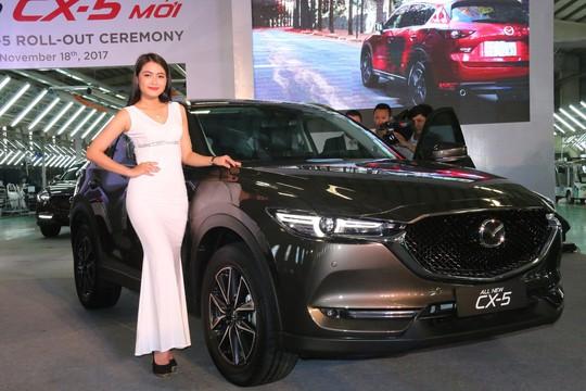 Thaco ra mắt ô tô Mazda CX5 mới giá từ 859 triệu đồng - Ảnh 6.
