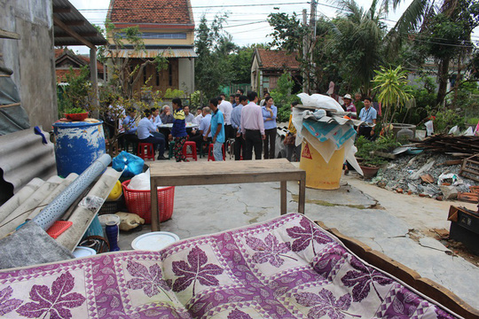 Công ty Đèo Cả và Báo Người Lao Động cứu trợ vùng tâm bão - Ảnh 6.