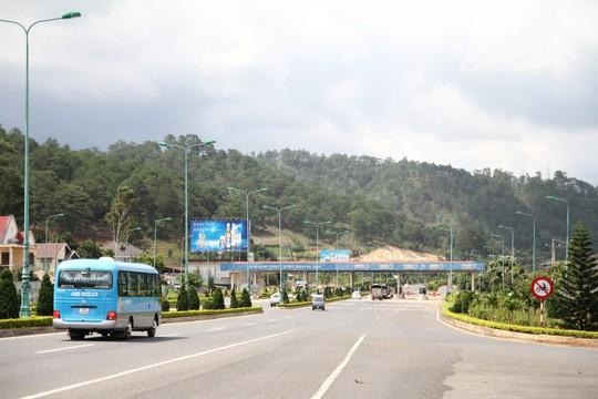 Trạm BOT Định An Đà Lạt sẽ giảm giá vé - Ảnh 3.