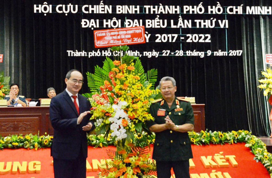 Ông Nguyễn Văn Chương tái đắc cử Chủ tịch Hội Cựu chiến binh TP HCM - Ảnh 1.