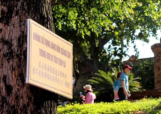 Tháp Bà Ponagar ở TP Nha Trang, tỉnh Khánh Hòa - nơi du khách Trung Quốc thường đến tham quan