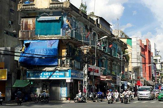 Chung cư 440 Trần Hưng Đạo (quận 5, TP HCM) đang được lên kế hoạch cải tạo