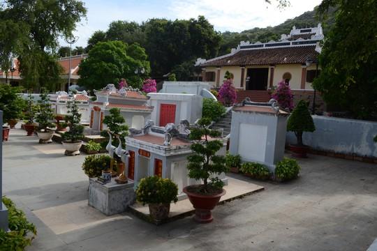Lăng Thoại Ngọc Hầu ở phường Núi Sam, TP Châu Đốc, tỉnh An Giang Ảnh: THỐT NỐT
