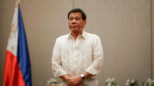 Ông Duterte yêu cầu Mỹ hỗ trợ chống ma túy - Ảnh 1.