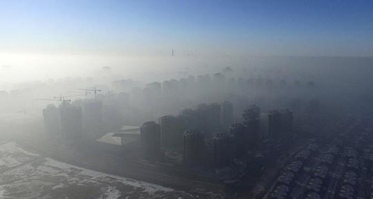 Thiên Tân ngày 2-1. Ảnh: Reuters