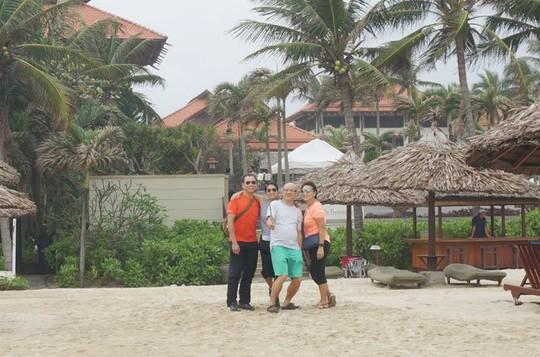 Khách du lịch tại Đà Nẵng - Ảnh: Đào Loan