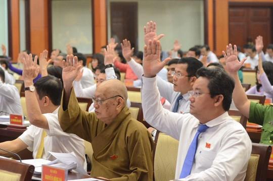 HĐND TP HCM thông qua nghị quyết thí điểm cơ chế đặc thù - Ảnh 1.