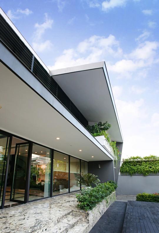 Biệt thự 700 m2 thiết kế tinh tế ở Hà Nội - Ảnh 8.