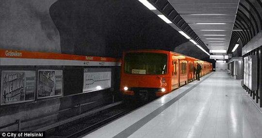 Đề phòng Nga, Phần Lan nâng cấp đường hầm bên dưới thủ đô - Ảnh 5.