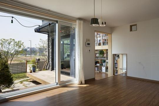 Ngôi nhà với phong cách tối giản đẹp như trong phim ở Hàn Quốc - Ảnh 7.