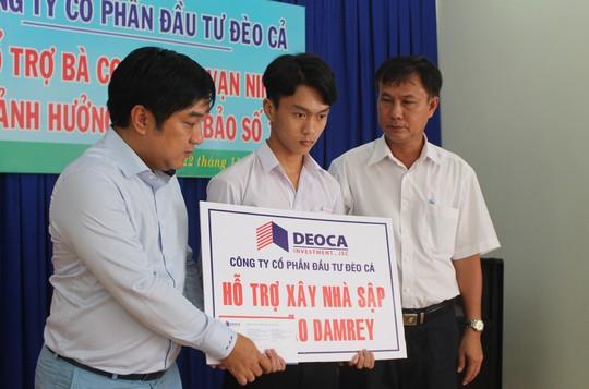 Công ty Đèo Cả và Báo Người Lao Động cứu trợ vùng tâm bão - Ảnh 4.