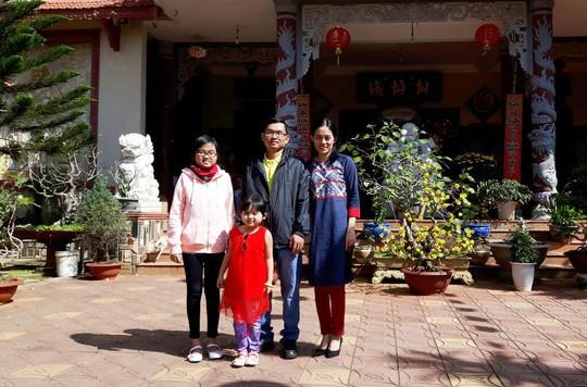 Gia đình hạnh phúc của chị Nguyễn Thị Thu Trang, Phó Giám đốc Công ty TNHH MTV Thương mại - Dịch vụ Sadaco