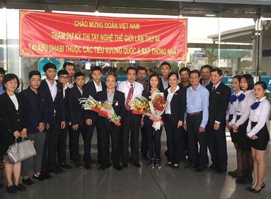 13 thí sinh Việt Nam lên đường dự thi tay nghề thế giới - Ảnh 1.