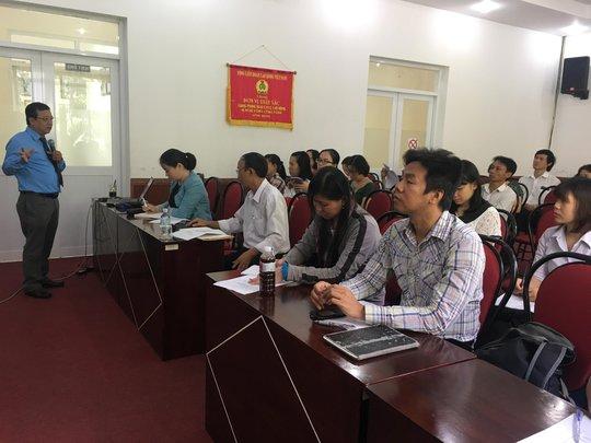 Cán bộ Công đoàn cơ sở tham gia tập huấn kỹ năng thương lượng thỏa ước lao động tập thể