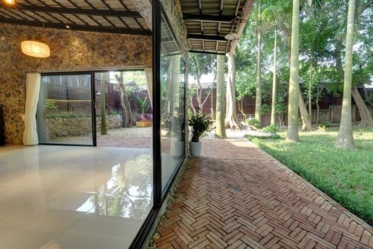 Nhà vườn đầy cây xanh mát ở Hà Nội - Ảnh 9.