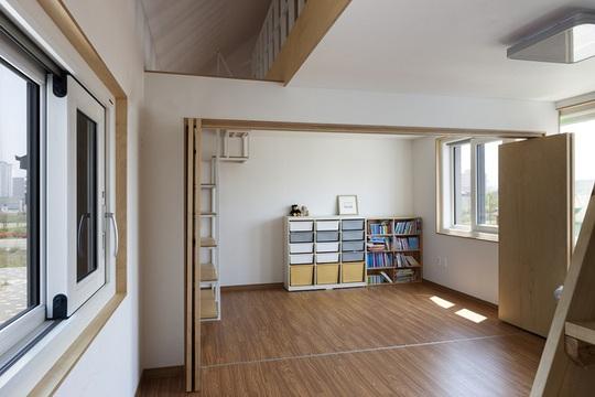 Ngôi nhà với phong cách tối giản đẹp như trong phim ở Hàn Quốc - Ảnh 8.