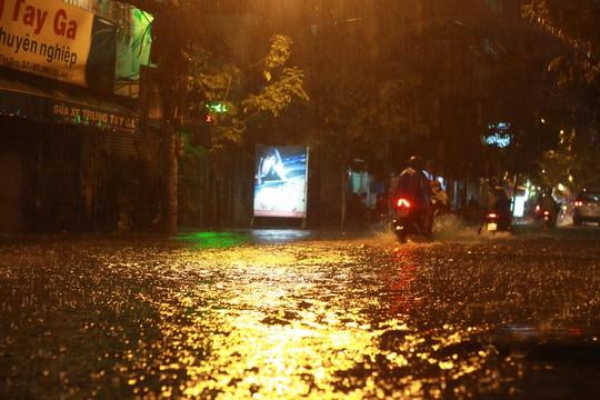 Bão số 14 gây mưa to gió lớn ở TP HCM - Ảnh 2.
