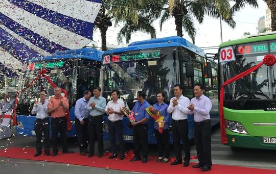 """TP HCM: Bắt tay vào """"thay máu"""" 3 tuyến xe buýt - Ảnh 1."""