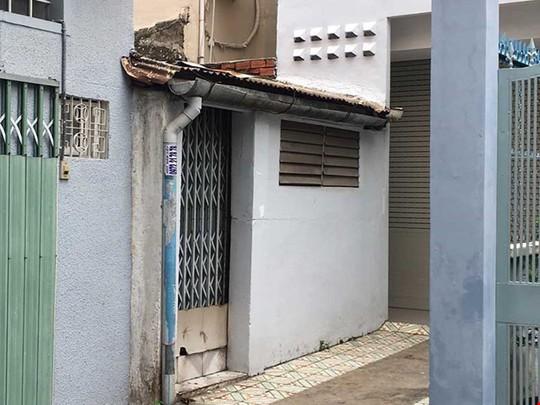 Căn nhà của bà Đức. Ảnh Cẩm Tú