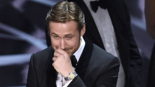 Và đây là khoảnh khắc Ryan nở nụ cười khó hiểu
