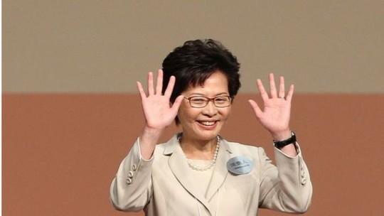 Bà Carrie Lam, nữ lãnh đạo đầu tiên của Hồng Kông. Ảnh: EPA