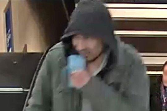 Hình ảnh nghi phạm được cảnh sát công bố. Ảnh: Swedish Police