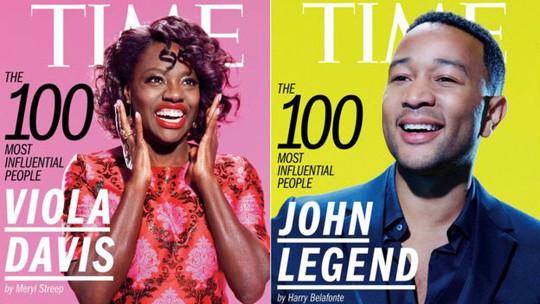 Nữ diễn viên thắng Oscar là Viola Davis và John Legend
