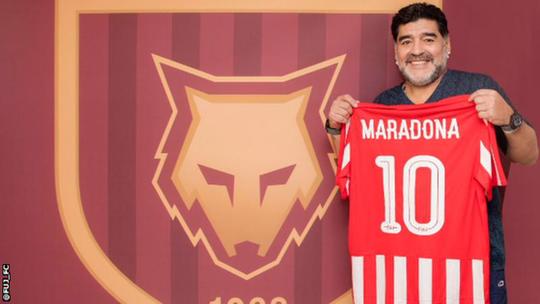 Maradona tái xuất trên ghế HLV ở Ả Rập - Ảnh 1.