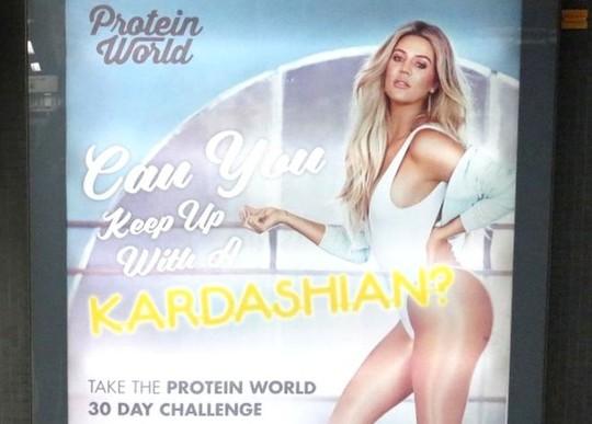 Quảng cáo của siêu mẫu Khloe Kardashian gây tranh cãi - Ảnh 1.