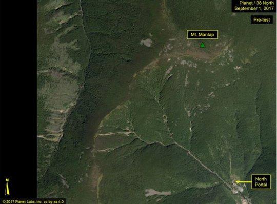 Triều Tiên: Vụ thử hạt nhân gây sạt lở đất - Ảnh 3.