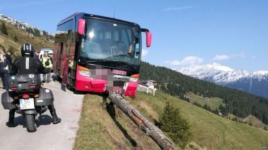 Tài xế đột quỵ, du khách cứu cả xe buýt bên vách núi - Ảnh 1.