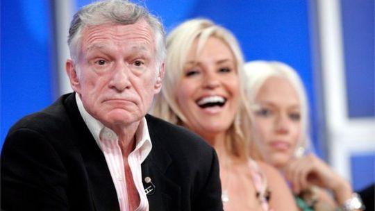 Ông trùm Playboy yên nghỉ cạnh Marilyn Monroe - Ảnh 1.