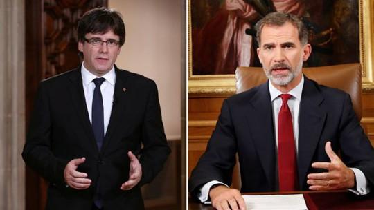 Lãnh đạo Catalonia chỉ trích ngược lại vua Tây Ban Nha - Ảnh 1.