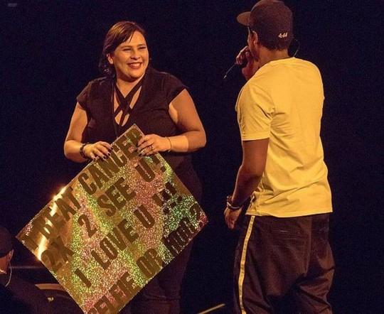 Rapper Jay-Z ngợi ca người phụ nữ đánh bại ung thư - Ảnh 1.
