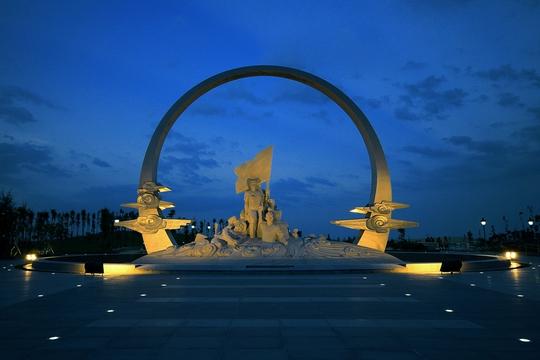 Chiêm ngưỡng Khu tưởng niệm Gạc Ma từ trên không - Ảnh 9.