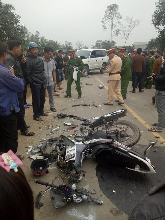 Từ đám cưới ra, 3 thanh niên tử vong trong tai nạn thảm khốc - Ảnh 2.