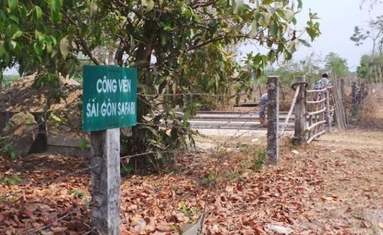 Dự án công viên Sài Gòn Safari vẫn chưa có dấu hiệu triển khai sau nhiều năm nhận đất. Ảnh: V.D