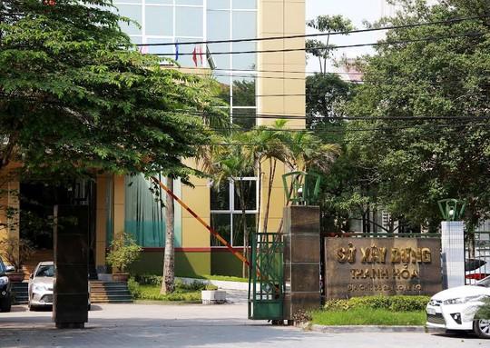Sở Xây dựng Thanh Hóa, nơi bà Trần Vũ Quỳnh Anh từng công tác
