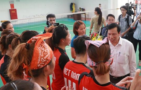 Bộ trưởng VH-TT-DL khích lệ VĐV dự SEA Games 29 - Ảnh 18.