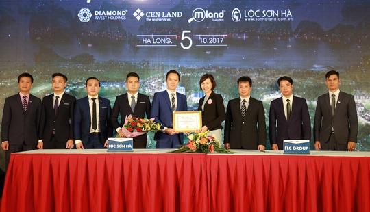 Bốn đại lý bắt tay phân phối FLC Hạ Long giai đoạn 2 - Ảnh 2.